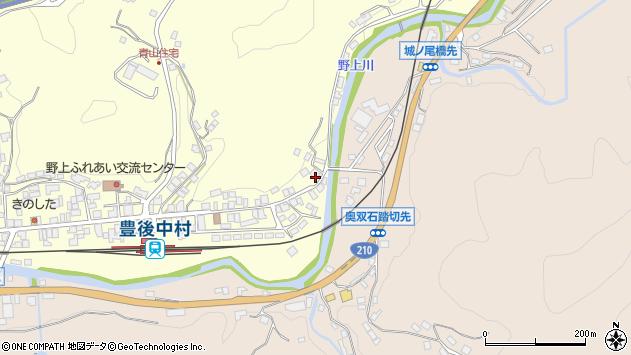 大分県玖珠郡九重町右田608周辺の地図