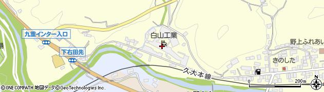 大分県玖珠郡九重町右田1058周辺の地図