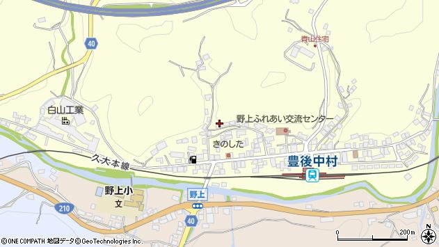 大分県玖珠郡九重町右田731周辺の地図