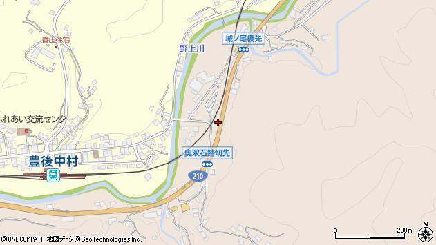 大分県玖珠郡九重町野上1312周辺の地図