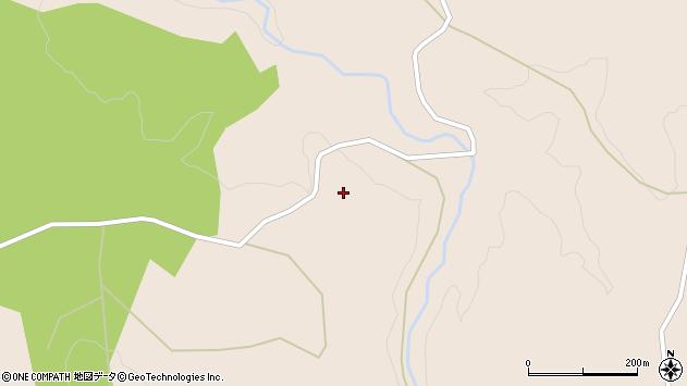 大分県玖珠郡九重町野上2830周辺の地図
