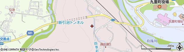 大分県玖珠郡九重町町田919周辺の地図