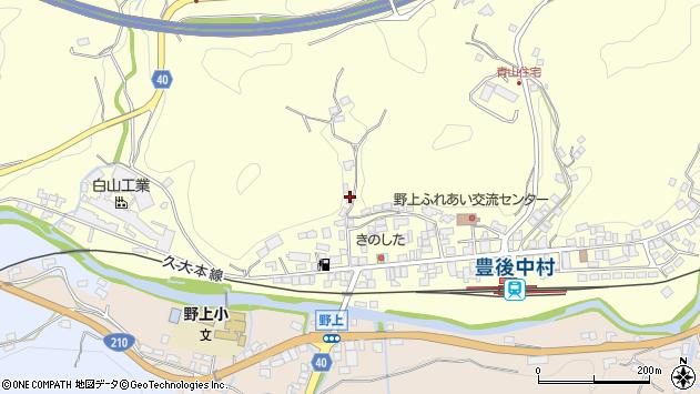 大分県玖珠郡九重町右田1000周辺の地図