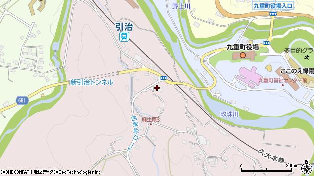 大分県玖珠郡九重町町田5427周辺の地図