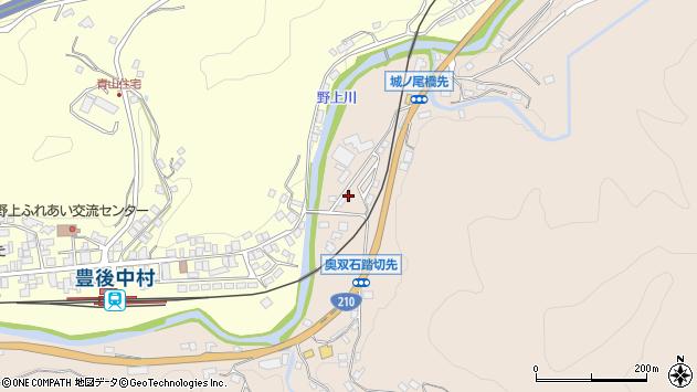 大分県玖珠郡九重町野上1320周辺の地図
