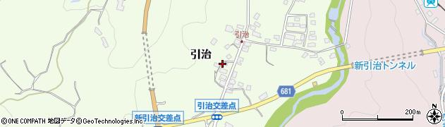 大分県玖珠郡九重町引治612周辺の地図
