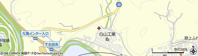大分県玖珠郡九重町右田1289周辺の地図