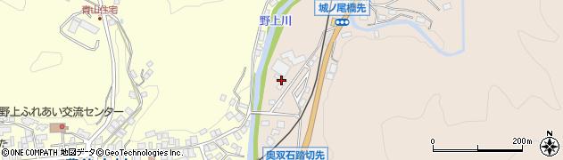 大分県玖珠郡九重町野上1319周辺の地図