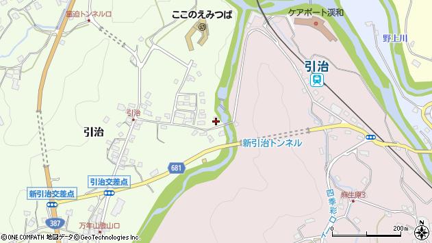 大分県玖珠郡九重町引治538周辺の地図