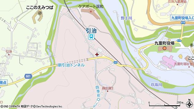 大分県玖珠郡九重町町田5116周辺の地図