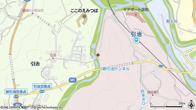 大分県玖珠郡九重町町田905周辺の地図