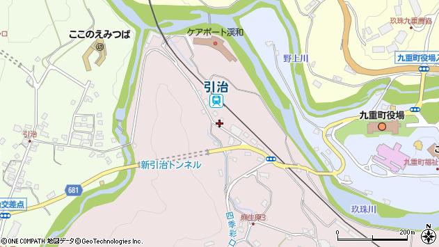 大分県玖珠郡九重町町田5460周辺の地図