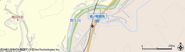 大分県玖珠郡九重町野上598周辺の地図