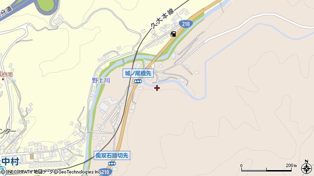 大分県玖珠郡九重町野上1331周辺の地図