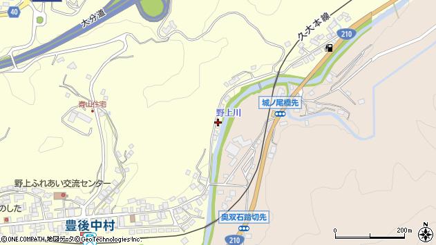 大分県玖珠郡九重町右田599周辺の地図