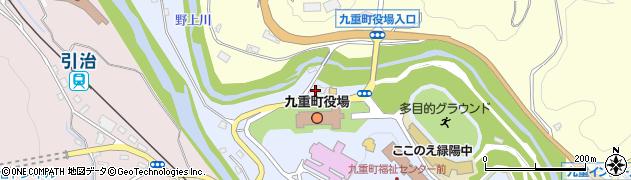 大分県玖珠郡九重町後野上18周辺の地図
