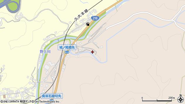 大分県玖珠郡九重町野上1408周辺の地図