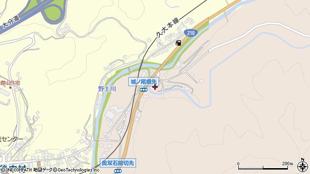 大分県玖珠郡九重町野上1413周辺の地図