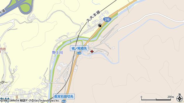 大分県玖珠郡九重町野上1412周辺の地図
