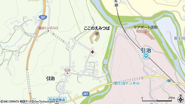 大分県玖珠郡九重町引治507周辺の地図