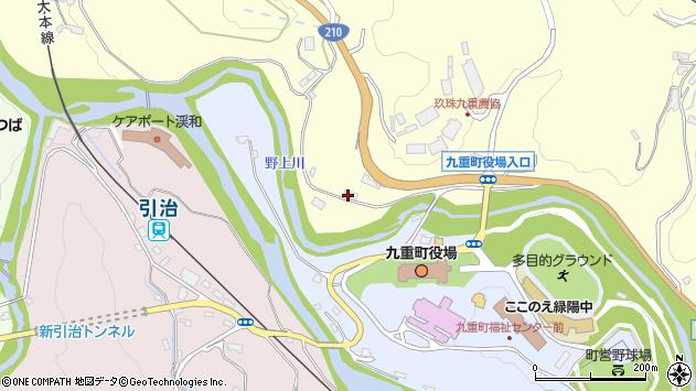 大分県玖珠郡九重町右田1906周辺の地図