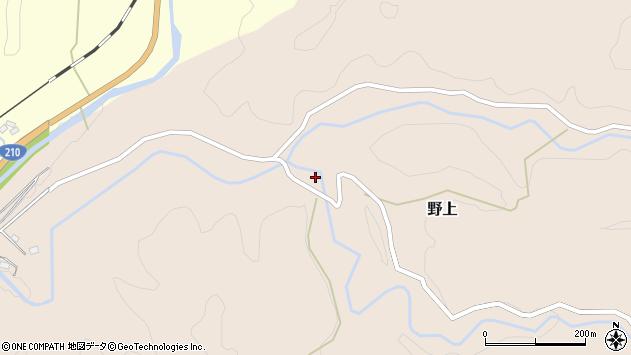 大分県玖珠郡九重町野上1846周辺の地図