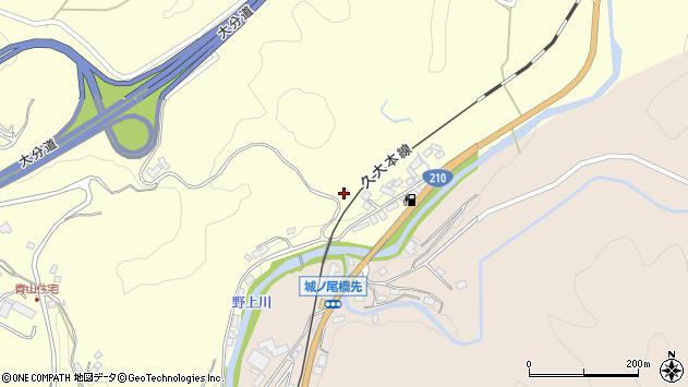 大分県玖珠郡九重町右田527周辺の地図
