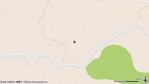 大分県玖珠郡九重町野上猪伏周辺の地図
