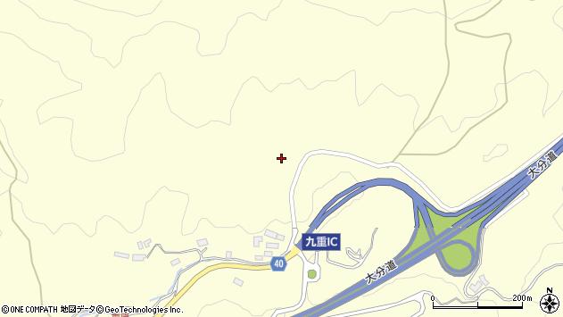 大分県玖珠郡九重町右田940周辺の地図