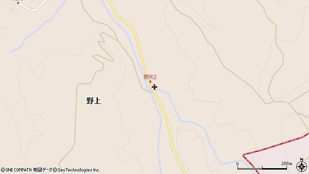 大分県玖珠郡九重町野上3150周辺の地図