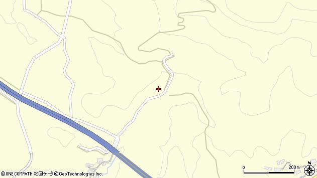 大分県玖珠郡九重町右田1503周辺の地図