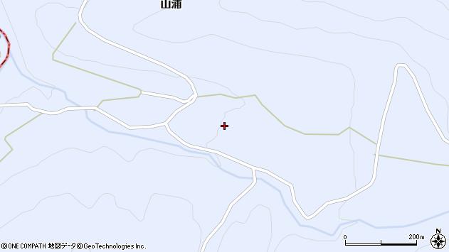 大分県玖珠郡玖珠町山浦1932周辺の地図