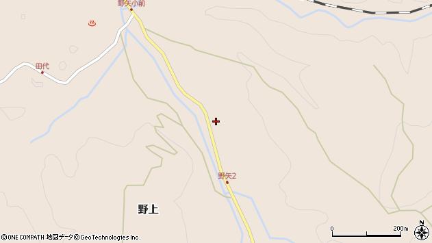 大分県玖珠郡九重町野上3399周辺の地図
