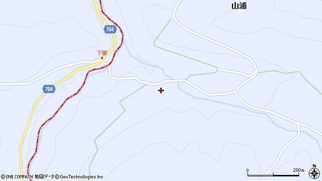 大分県玖珠郡玖珠町山浦2275周辺の地図