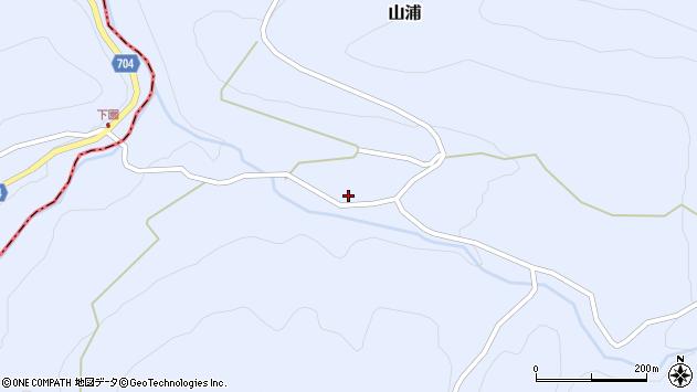 大分県玖珠郡玖珠町山浦2096周辺の地図