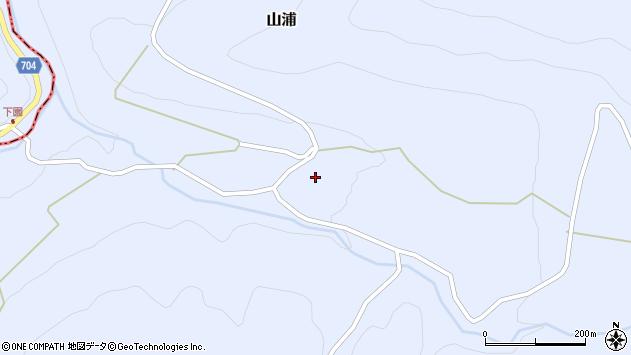 大分県玖珠郡玖珠町山浦2043周辺の地図