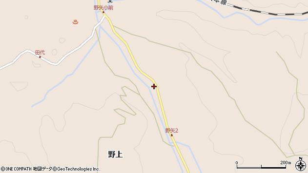 大分県玖珠郡九重町野上3376周辺の地図