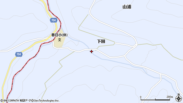 大分県玖珠郡玖珠町山浦2115周辺の地図