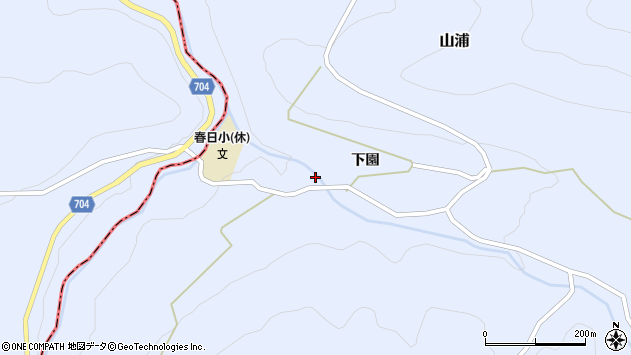 大分県玖珠郡玖珠町山浦2183周辺の地図