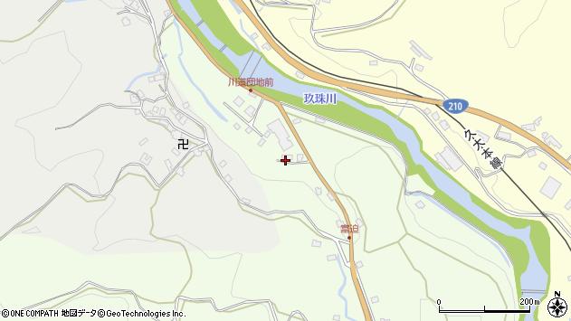 大分県玖珠郡九重町引治12周辺の地図