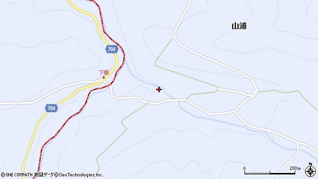 大分県玖珠郡玖珠町山浦2182周辺の地図