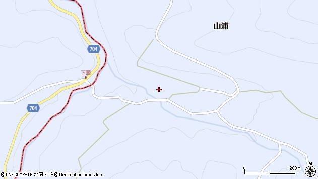 大分県玖珠郡玖珠町山浦2176周辺の地図