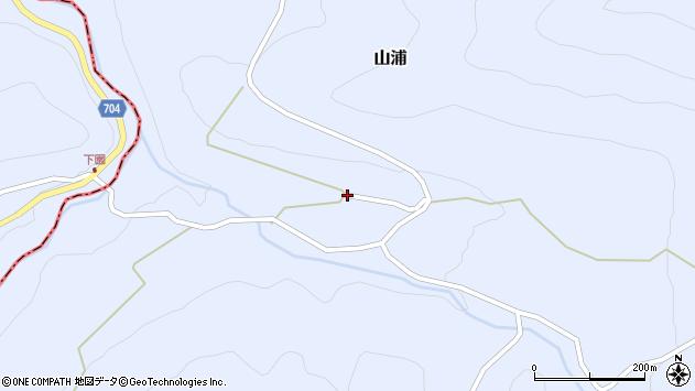 大分県玖珠郡玖珠町山浦2097周辺の地図