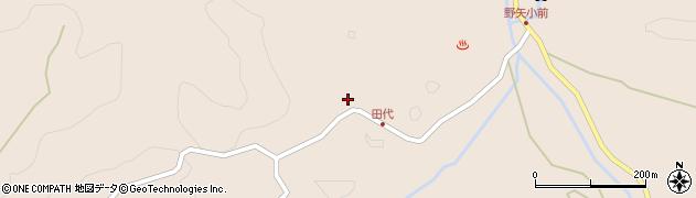 大分県玖珠郡九重町野上2628周辺の地図
