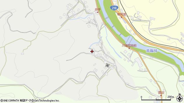 大分県玖珠郡九重町粟野419周辺の地図