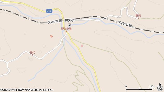 大分県玖珠郡九重町野上3408周辺の地図