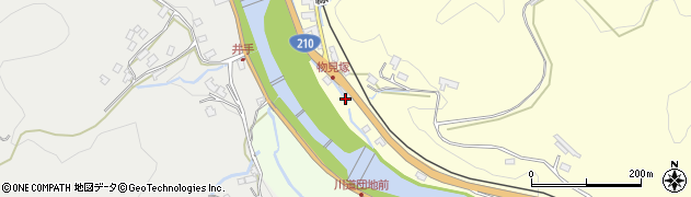 大分県玖珠郡九重町右田2318周辺の地図