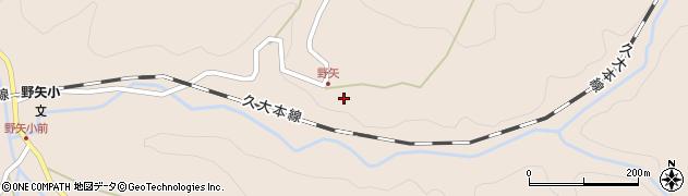 大分県玖珠郡九重町野上3545周辺の地図
