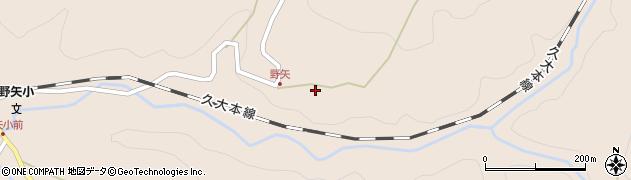 大分県玖珠郡九重町野上3548周辺の地図