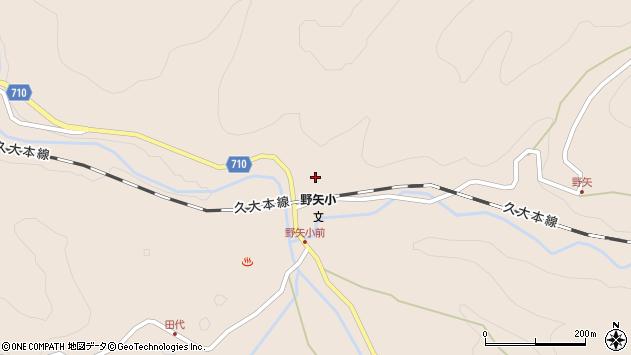 大分県玖珠郡九重町野上3957周辺の地図